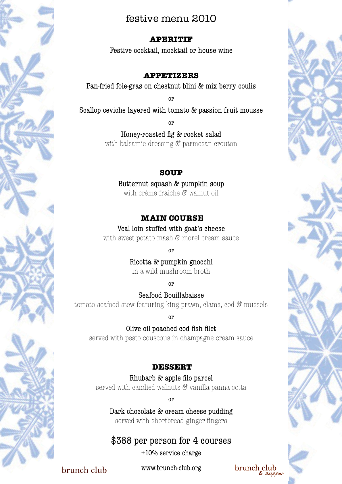 Christmas breakfast menu ideas 28 images christmas for Best brunch menu